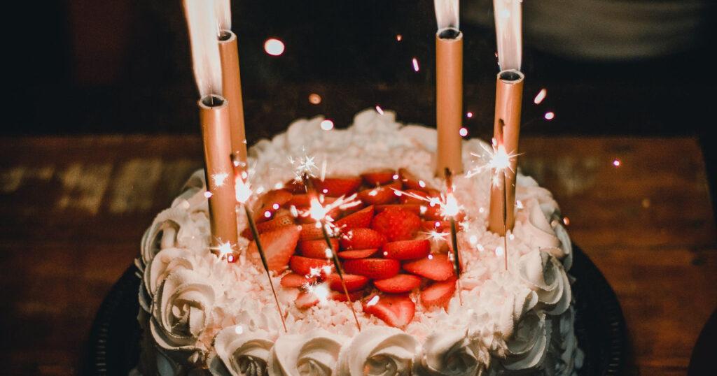 novēlējums dzimšanas dienā
