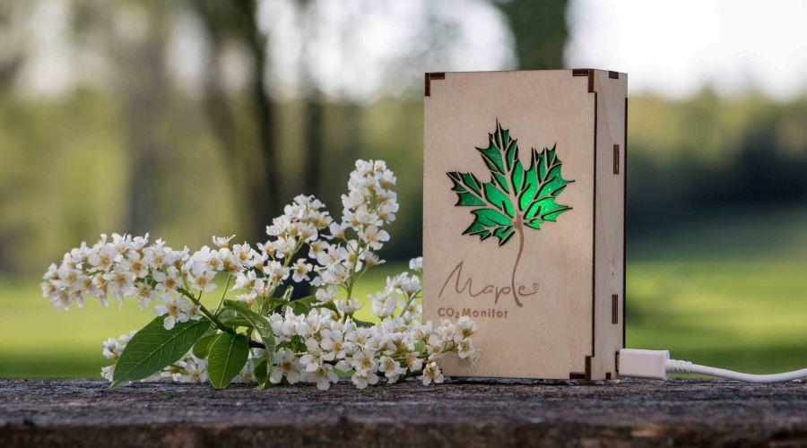 Maple Co2 monitors dabā