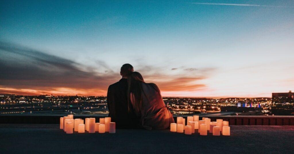 romantiska atpūta divatā