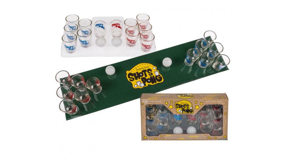 ping pong shots